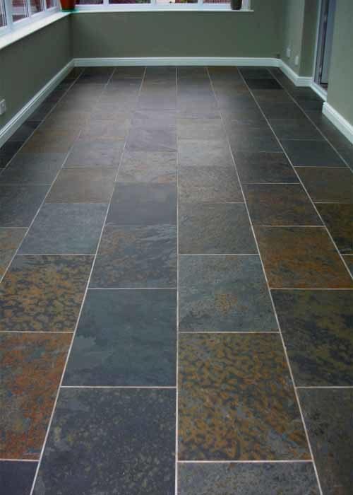 Piso de piedra natural de la pizarra piso de piedra - Piedra natural para suelos ...