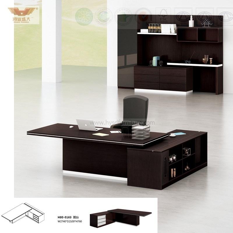 Foto de el nuevo dise o de oficina de madera de soild for Disenos de escritorios para oficina