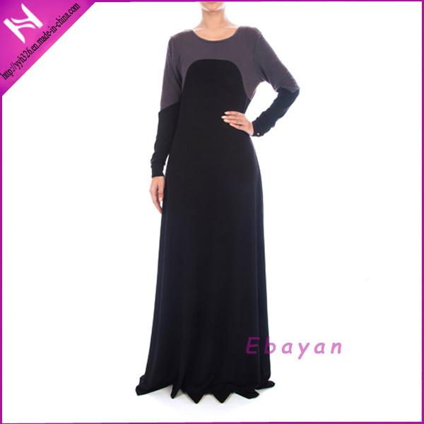 habillement islamique l gant simple de duba abayas de mod le de yyh habillement islamique. Black Bedroom Furniture Sets. Home Design Ideas