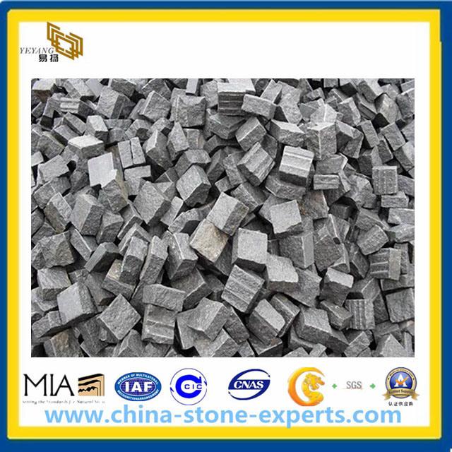 Pavage ext rieur du granit g654 gris fonc yqa pavage for Pavage exterieur prix