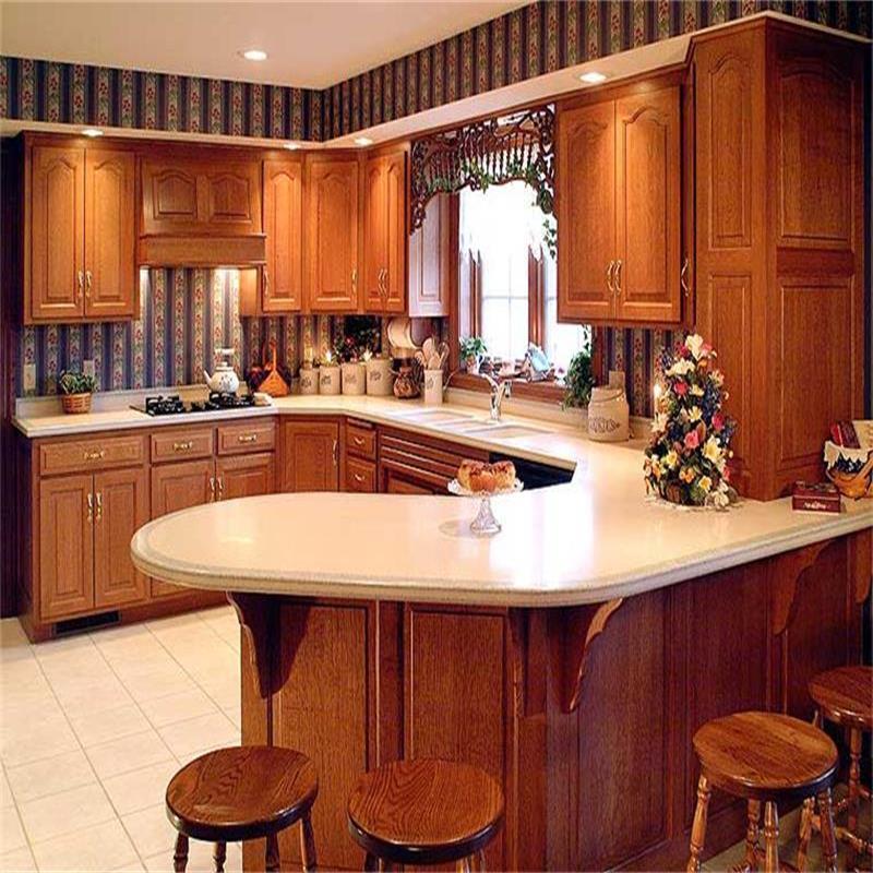 Cocina de madera maciza muebles de cocina marple del - Maderas para muebles de cocina ...