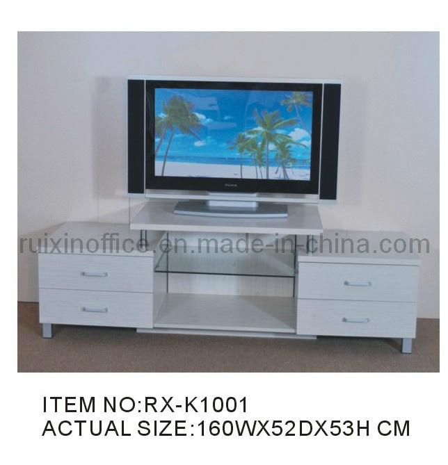 hogar moderno muebles de madera y cristal para tv rxk