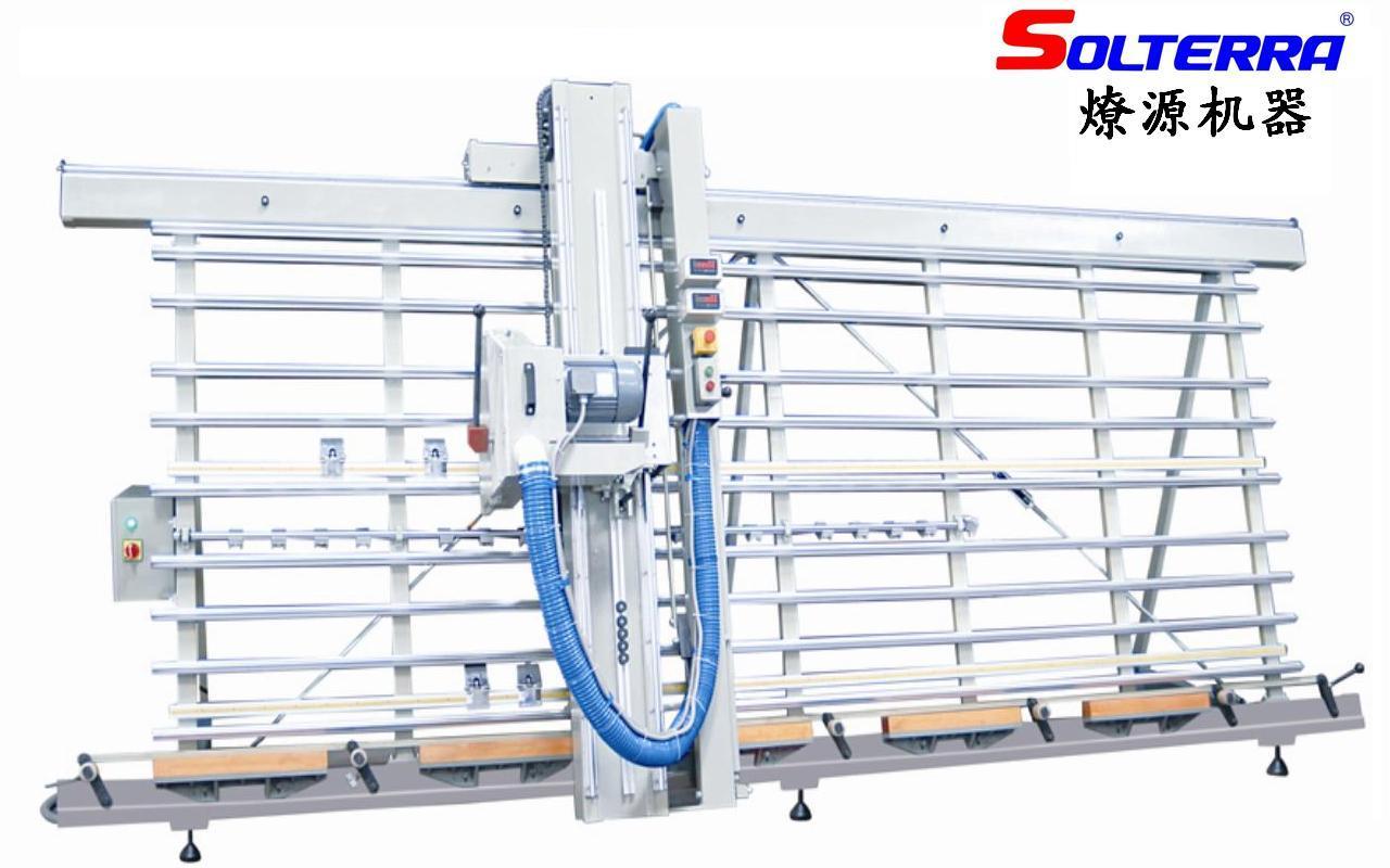 #0A0AC1 Sawing vertical da faixa/máquina Drilling para a parede divisório de  860 Maquina De Fabricar Janela De Aluminio