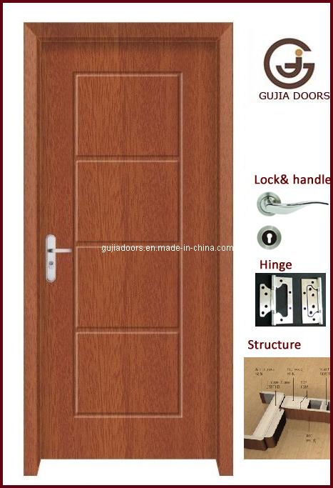 Nuevo dise o de madera interior de la puerta gj 8035 - Lo ultimo en puertas de interior ...