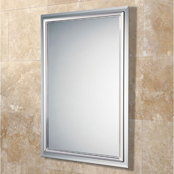 Feuille en verre de frameless de salle de bains de miroir for Miroir d argent