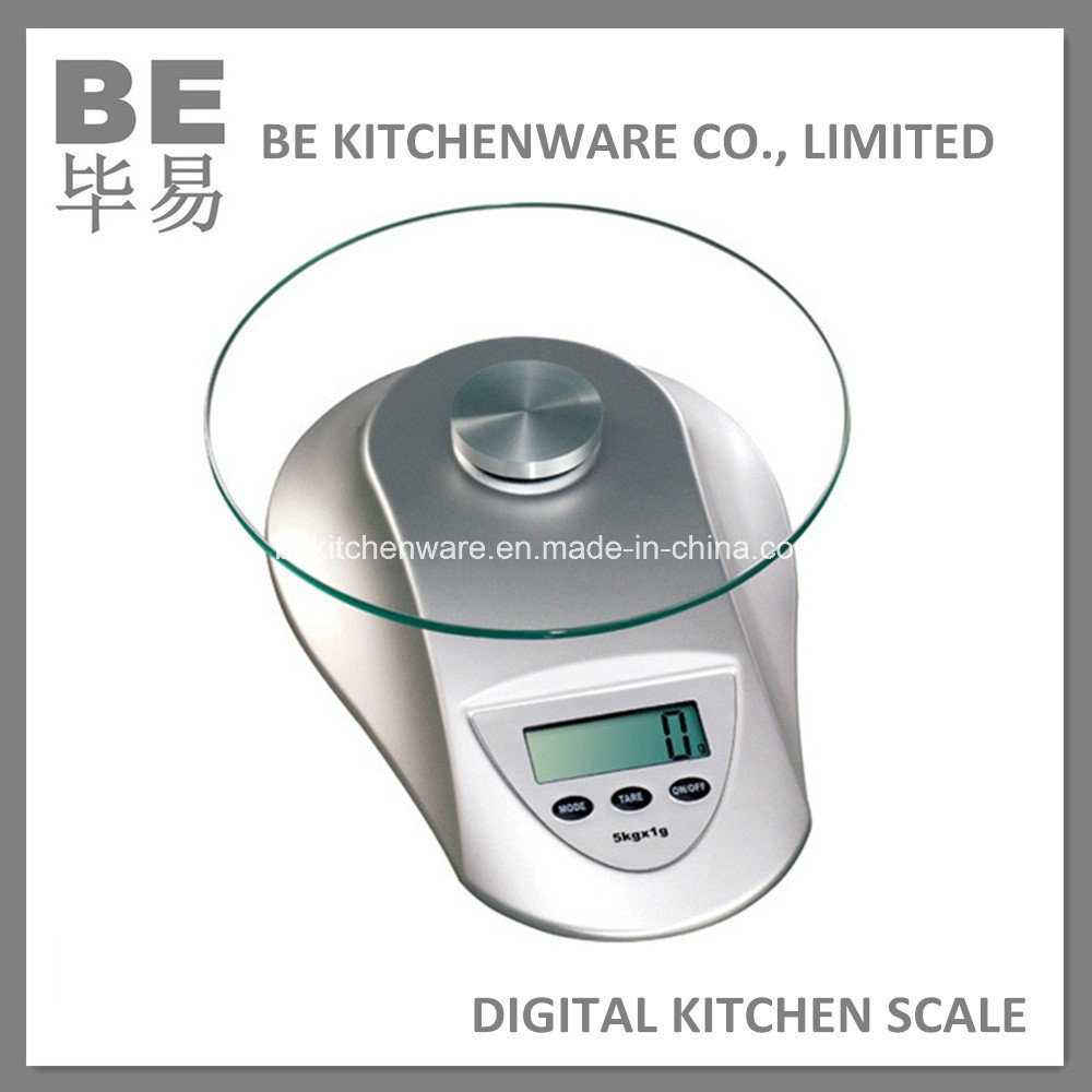 Стеклянный шар Electronic Kitchen Scale 5kg (BE-14003) - Стеклянный шар Electronic Kitchen Scale 5kg (BE-14003) предоставлен BE