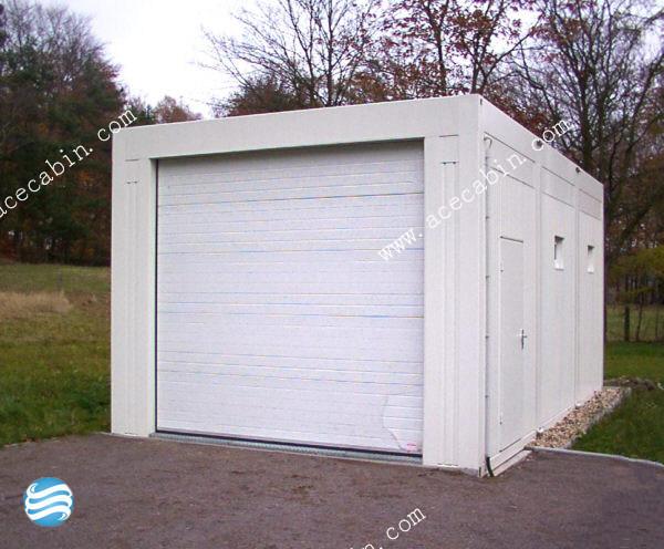 Yh g 01 container carport van modulaire garage prefabgarage bergruimte - Garage beton modulaire ...
