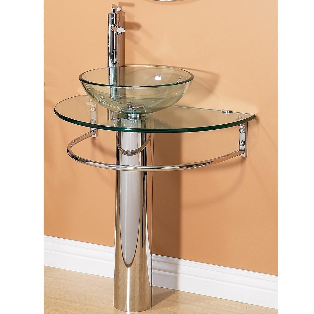 Lavabo en verre vanit en verre lavabo en verre 5009 for Lavabo salle de bain en verre