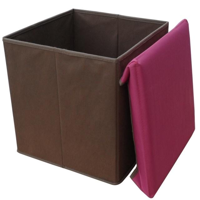Caja del taburete del almacenaje o de almacenaje o caja de - Cajas almacenaje ropa ...