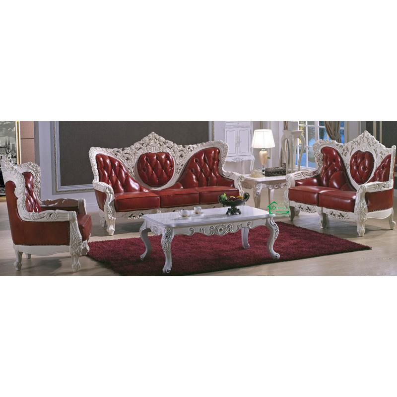 Sof de cuero con mesa de esquina y mesa auxiliar yf - Mesa auxiliar para sofa ...