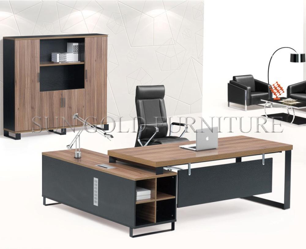 Foto de mesa executiva moderna l mob lia de escrit rio - Mesa escritorio moderna ...