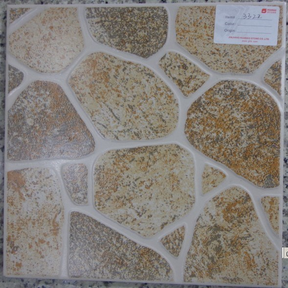 Baldosas cer micas esmaltadas r sticas jn 3322 for Precios de baldosas rusticas