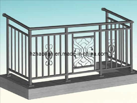 Balustrade en acier galvanis e de balcon hh yt 04 balustrade en acier galv - Balustrade acier exterieur ...