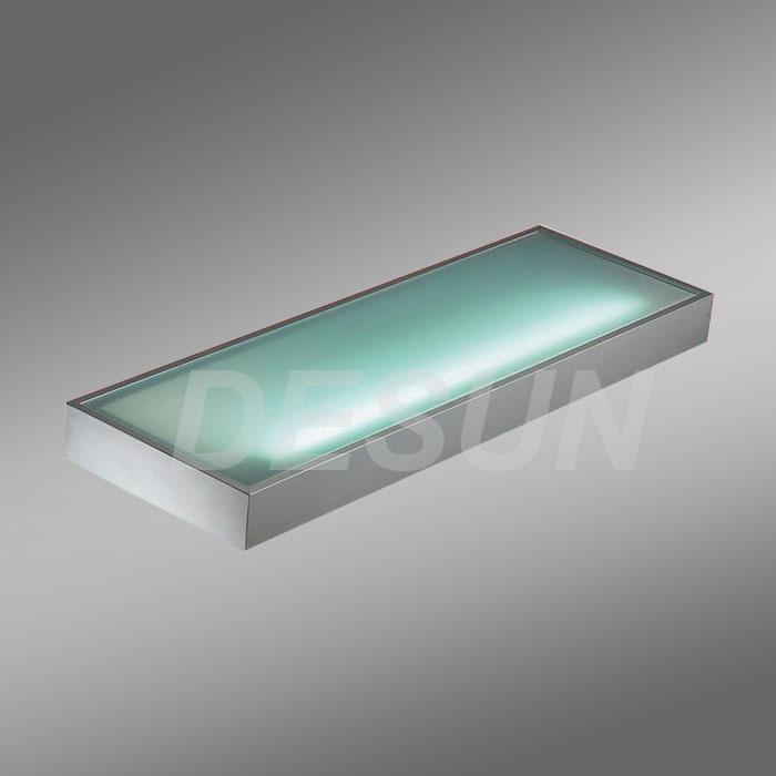 Keuken Wandplank Met Verlichting : Illuminated Glass Shelves