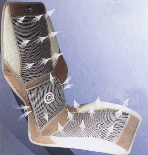 Накидка на сиденье с вентиляцией