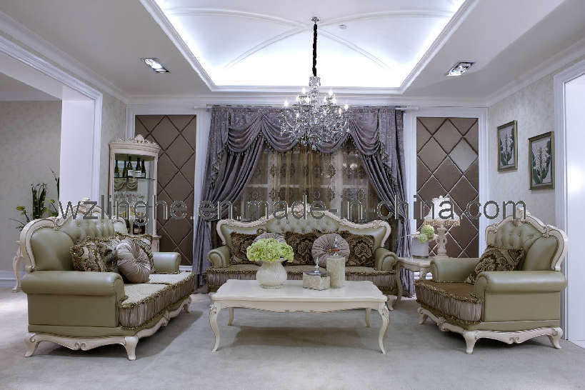 Mobilia di lusso neoclassica della camera da letto - Descrizione della camera da letto ...