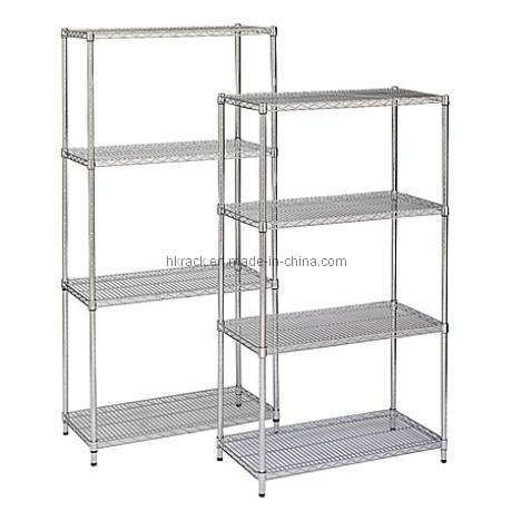 Tag re de treillis m tallique hk cs 2472 tag re de - Barre metallique pour etagere ...