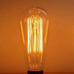 Lampadine del Edison delle lampade delloggetto dantiquariato dell