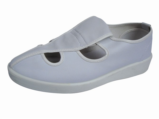 Foto de zapatos blancas de cocina esd de seguridad zapatos for Zapatos de cocina