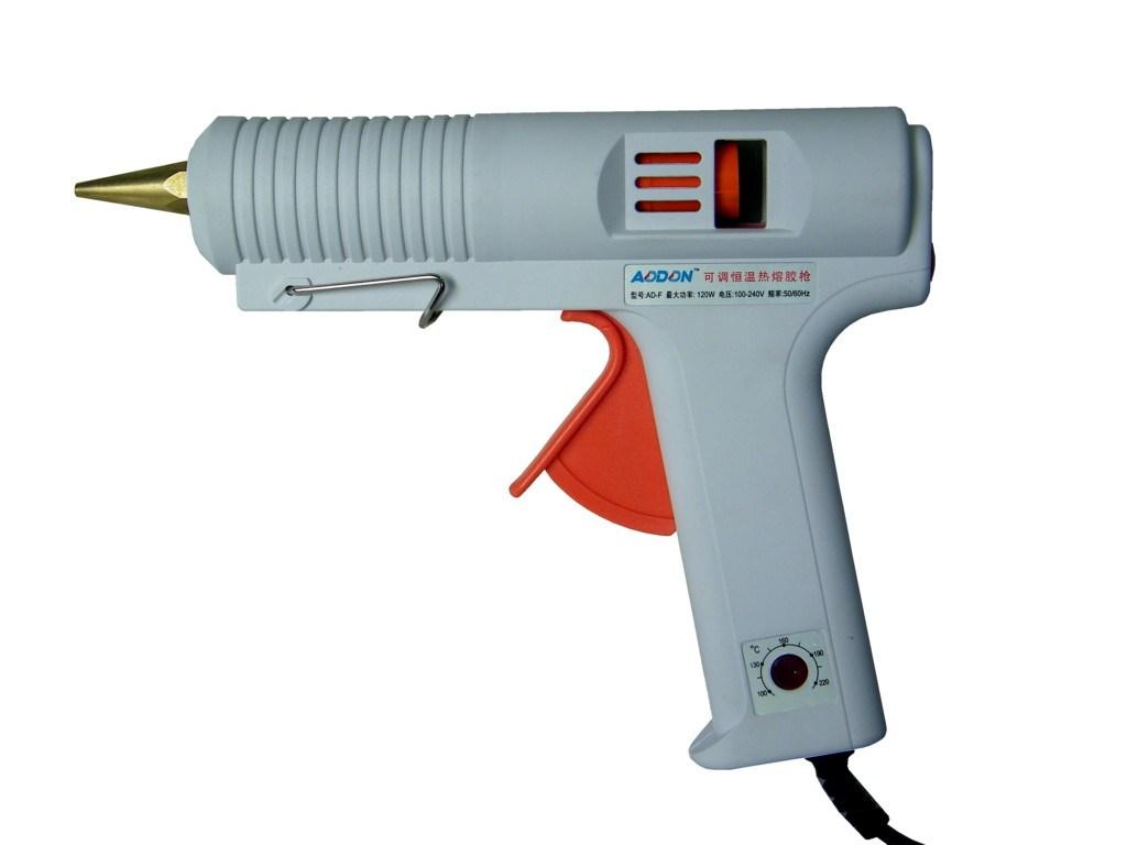pistolet de colle chaud temp rature r glable de la fonte 100 120w radiogoniom tre automatique. Black Bedroom Furniture Sets. Home Design Ideas