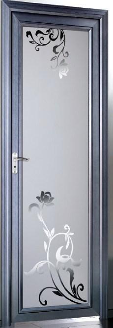 Puertas De Baño Aluminio:Puerta de aluminio del cuarto de baño (BCR-A-3103) – Puerta de