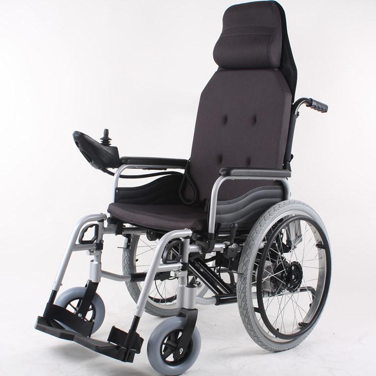 Sedia a rotelle portatile leggera pieghevole di potenza for Joystick per sedia a rotelle