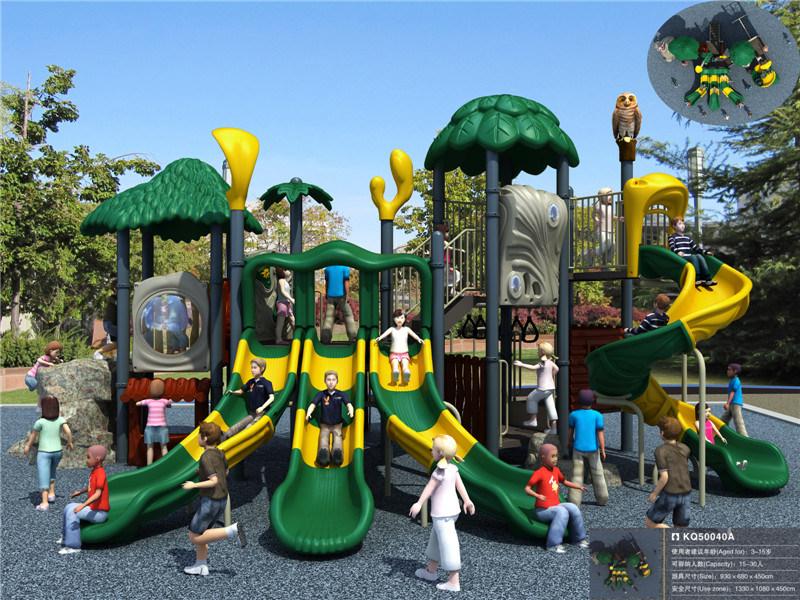 juegos grandes del juego del patio del equipo al aire libre plstico del patio para los