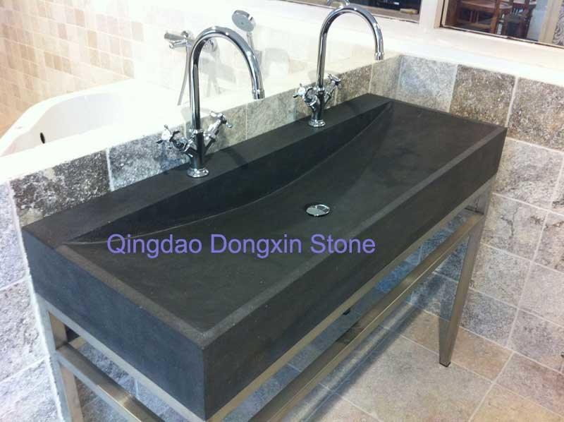 lavabo bleu de pierre chaux dx b lavabo bleu de. Black Bedroom Furniture Sets. Home Design Ideas