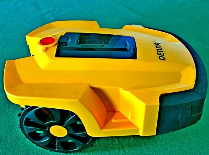 Bater a de litio robot cortac sped l600 bater a de - Cortacesped automatico precio ...