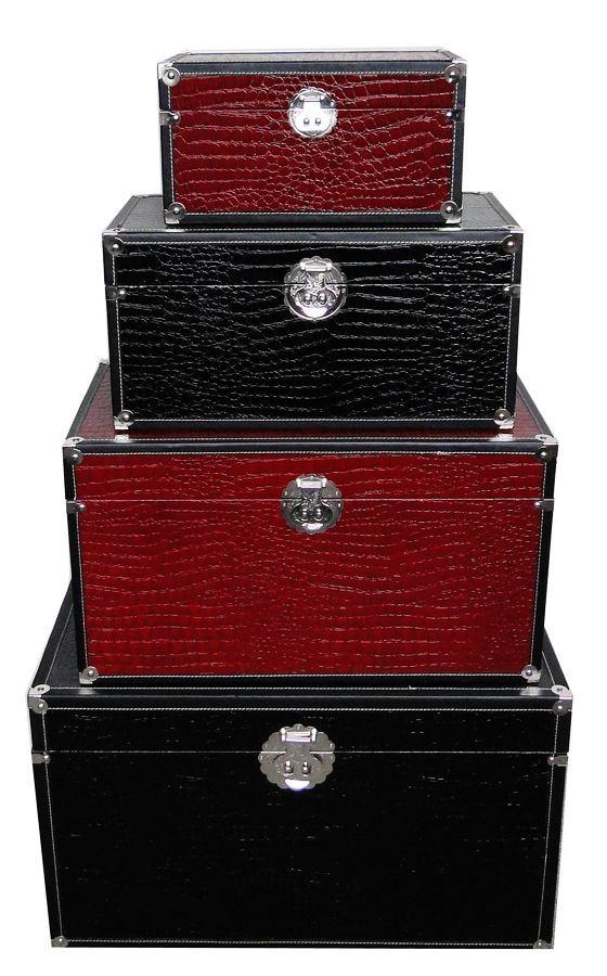 Caja de almacenaje del vino rojo sj08646 caja de - Caja de almacenaje ...