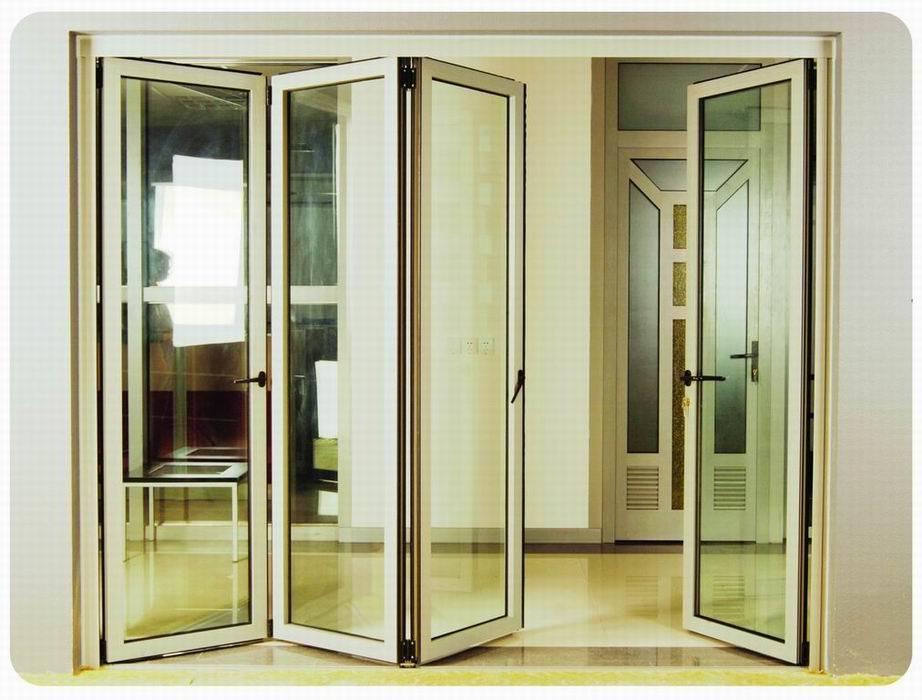Puertas plegables de la serie de alu puertas de for Puertas abatibles leroy merlin