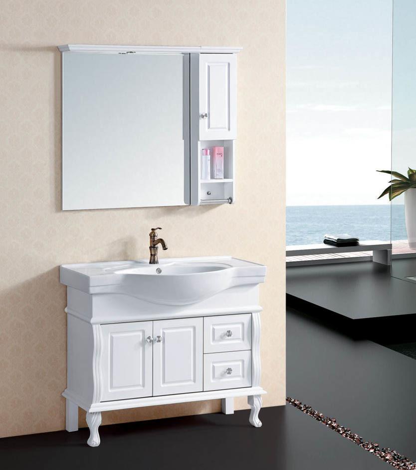 40 inch solid wood bathroom cabinet floor bath
