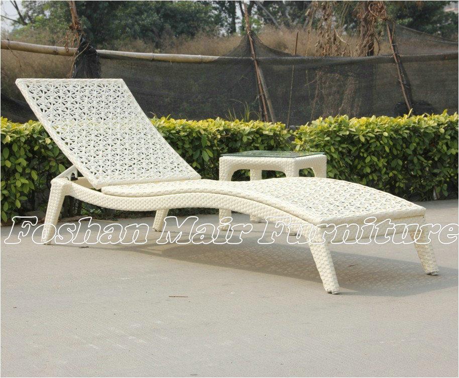 Les meubles ext rieurs de jardin de rotin fain ant de sun - Meuble de jardin rotin ...