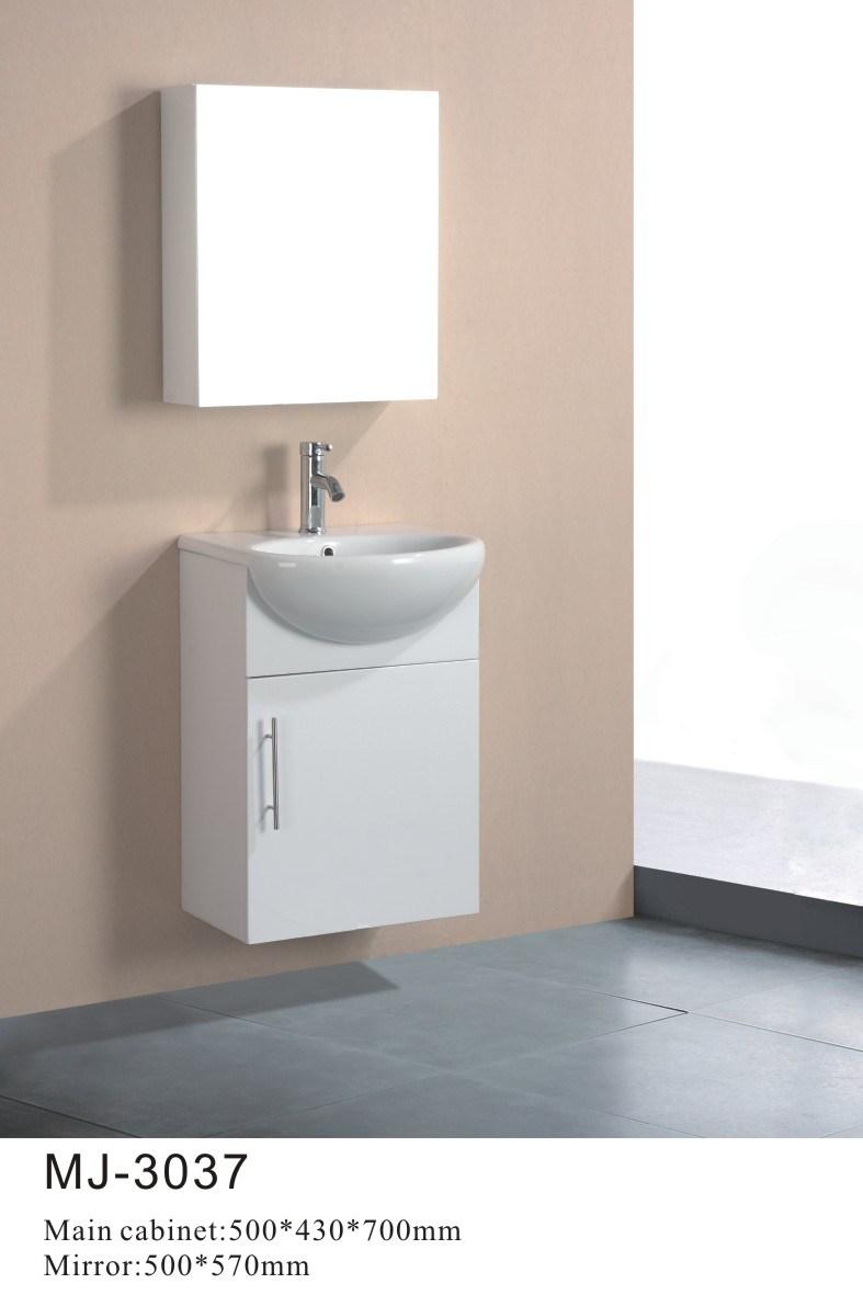 Armário de banheiro pequeno simples do PVC (MJ3037) –Armário de banheiro peq -> Armario De Banheiro Simples