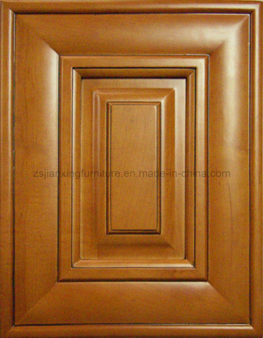 Puerta de gabinete de cocina de madera s lida bwc 07 - Puertas de madera de cocina ...