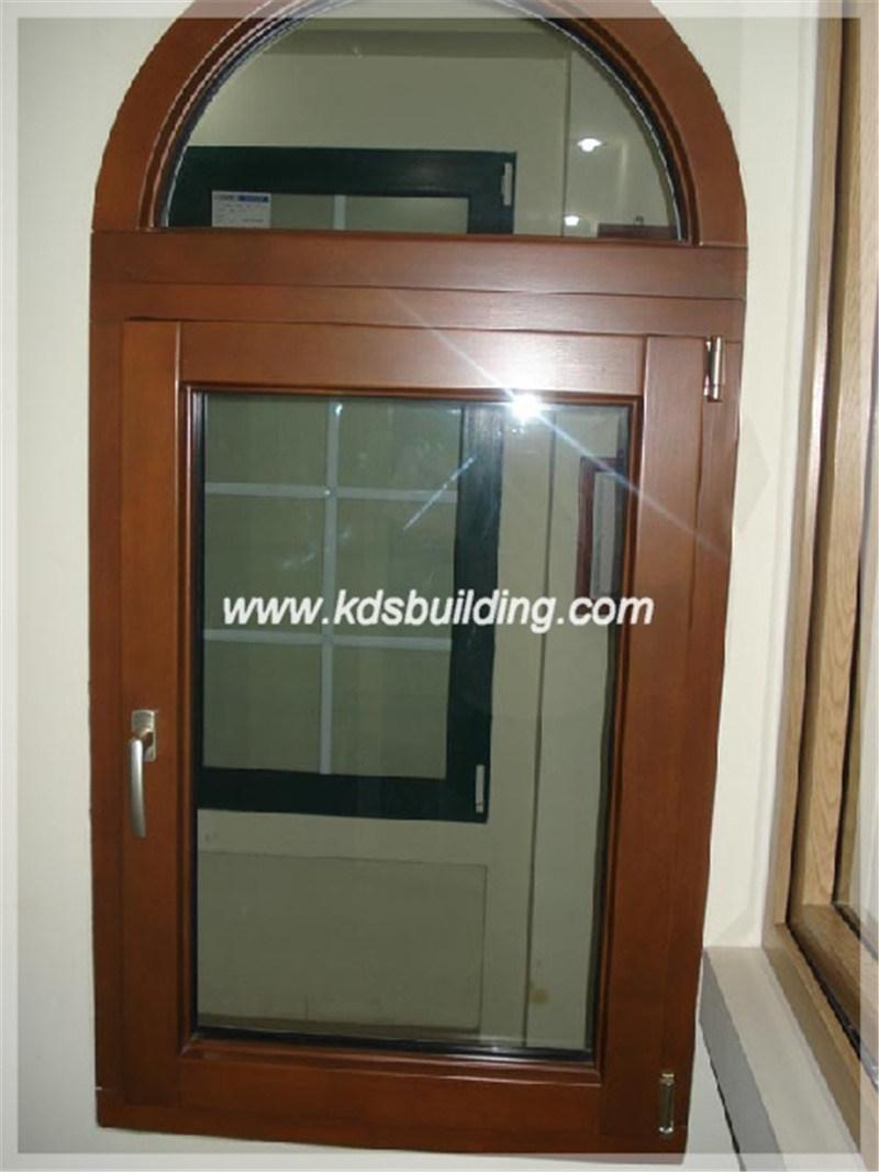 Puerta de madera arqueada estilo cl sico de la alta for Estilos de puertas de madera