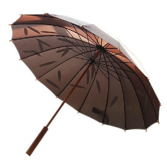 seul parapluie droit anti uv en bois manuel de golf de sun seul parapluie droit anti uv en bois. Black Bedroom Furniture Sets. Home Design Ideas