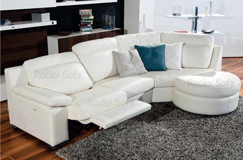 Sof moderno do couro do recliner da mob lia 2014 home for Mobilia normal