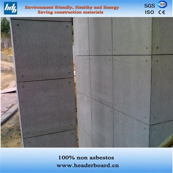 Non panneau de rev tement de ciment de fibre de rev tement for Panneau ciment exterieur