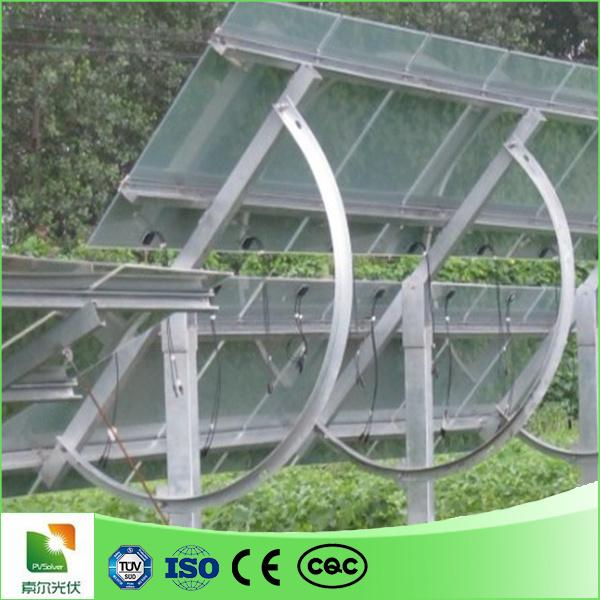 panneau solaire de support solaire r glable d 39 angle montant le rail de support en aluminium. Black Bedroom Furniture Sets. Home Design Ideas