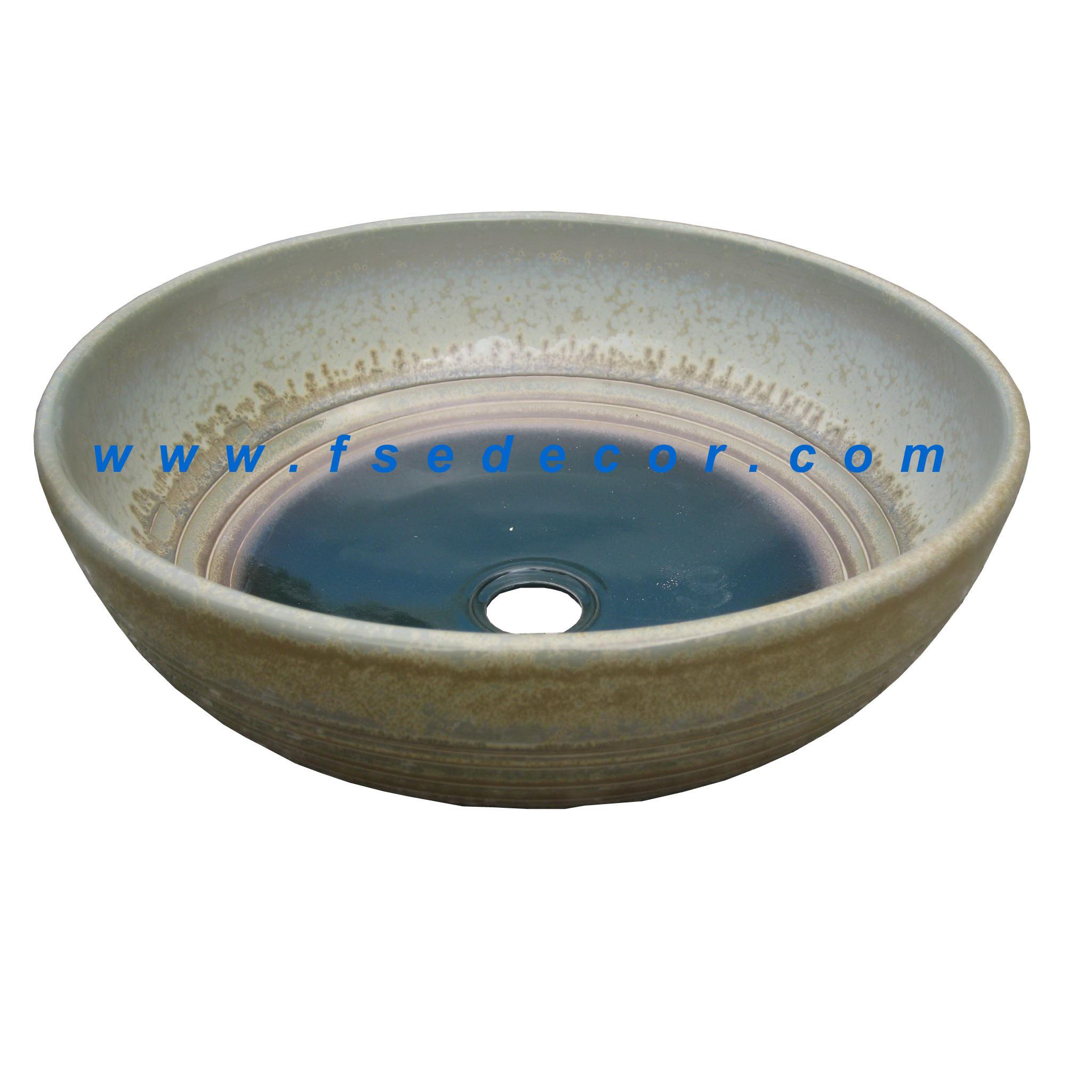 Fregadero de cer mica del cuarto de ba o moderno fse cps for Fregadero ceramica
