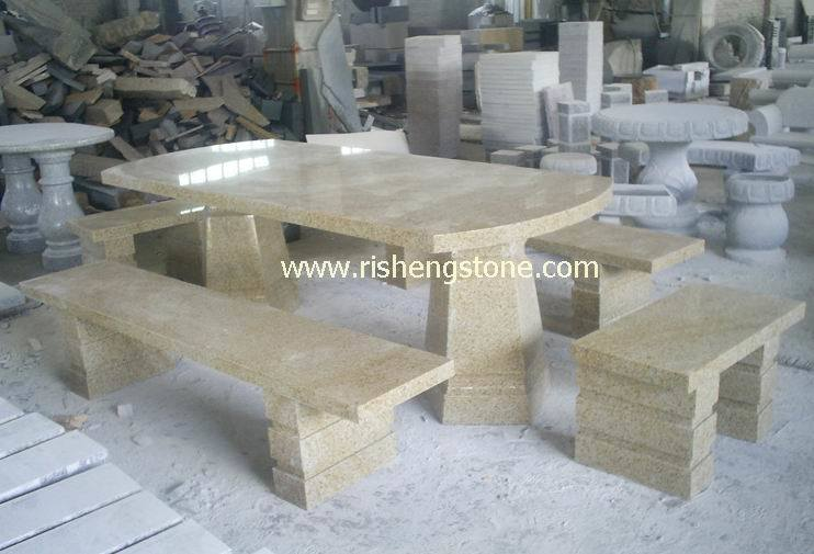 tableau du granit g682 banc en pierre meubles en. Black Bedroom Furniture Sets. Home Design Ideas