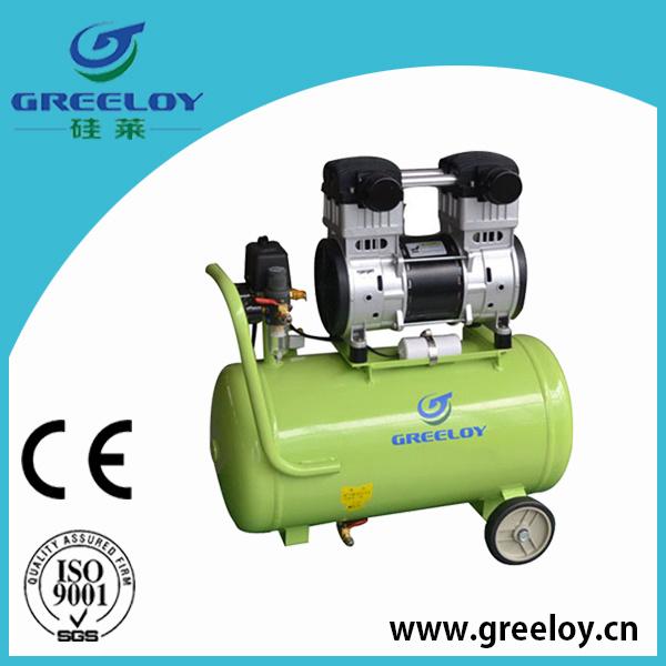 Compresseur d 39 air exempt d 39 huile silencieux mobile ga 121 - Compresseur d air silencieux ...