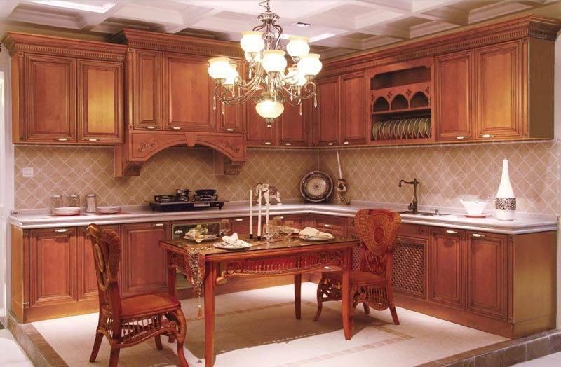 Diseños de muebles de cocina en madera  Imagui