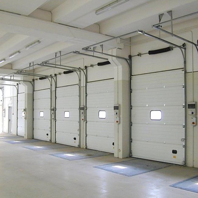 Porte automatique sectionnelle industrielle d 39 obturateur for Actigramme a 0 porte automatique