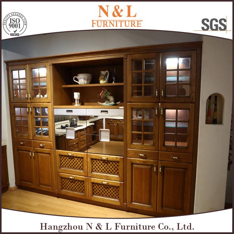 Foto de Muebles modernos de la cocina del estilo del roble de la ...