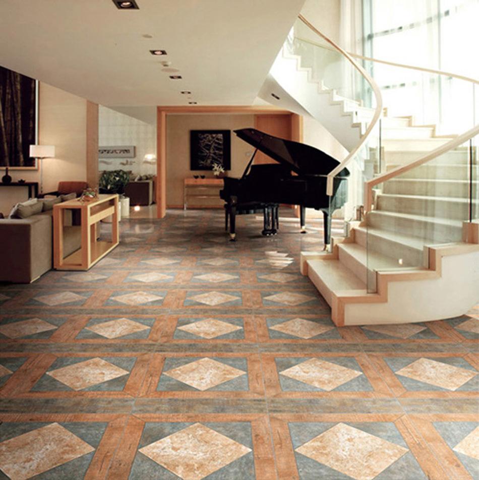 Azulejos de madera de floor de la baldosa cer mica 3d Baldosa ceramica
