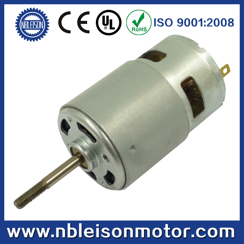 12v 24v high torque high speed motor dc puissant photo sur for High torque high speed dc motor