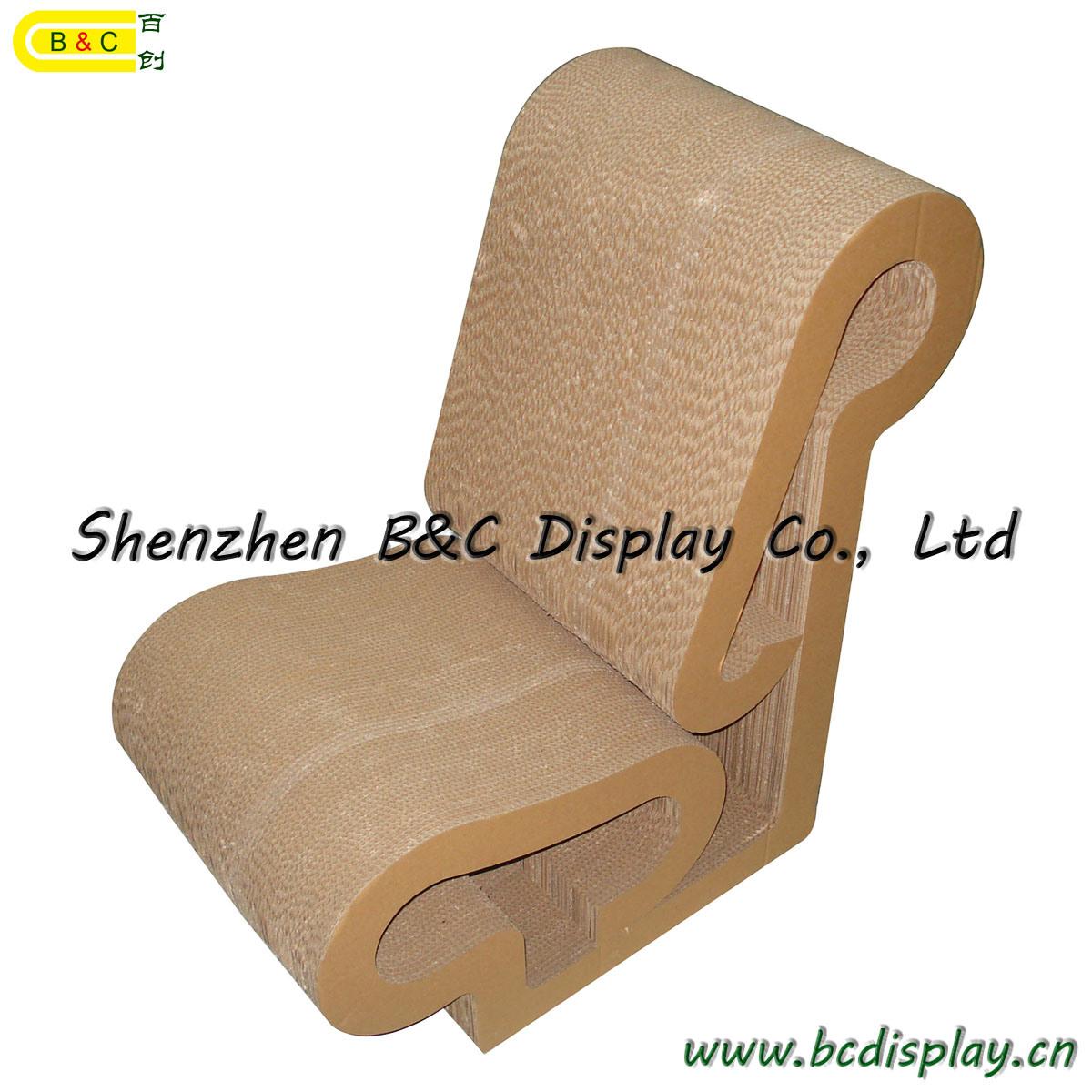 Sillas de papel cart n taburete muebles de cart n b for Muebles de carton precios