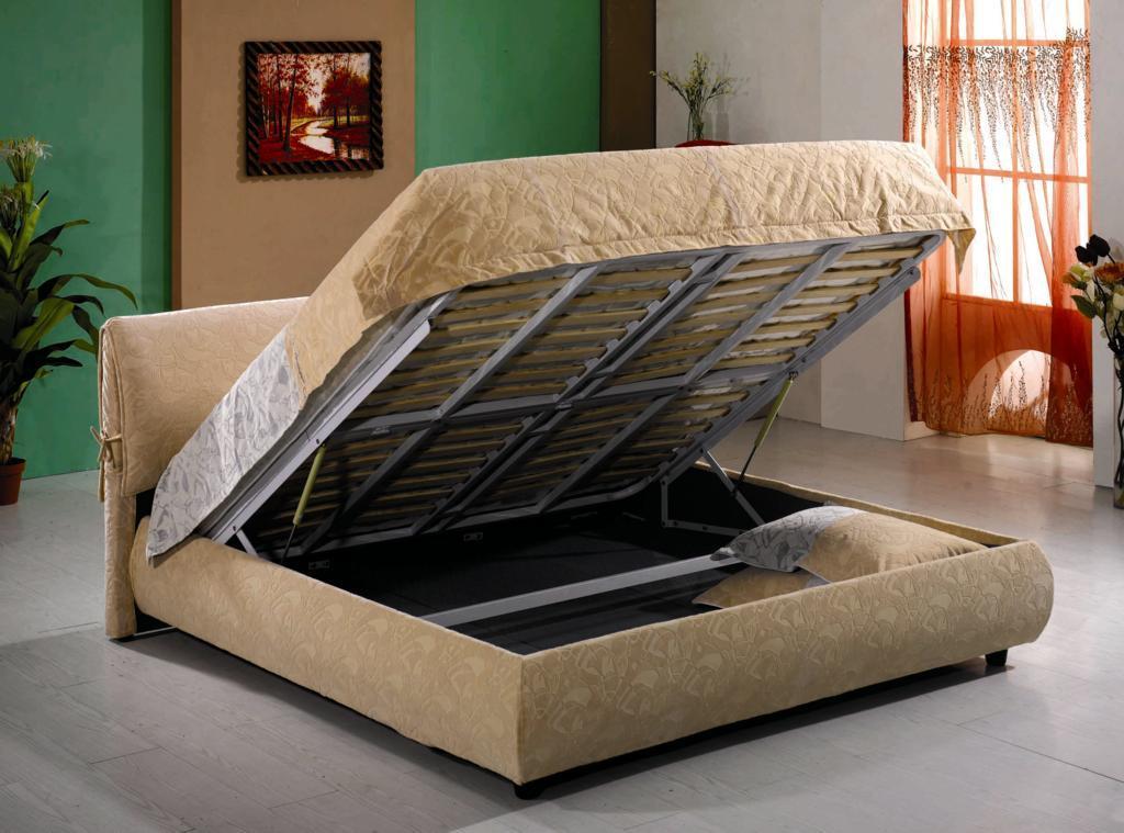 Lit de meubles de chambre coucher avec le cabinet b8085 for Lit de chambre a coucher